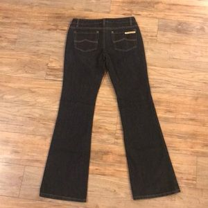 Michael Kors flare leg jean